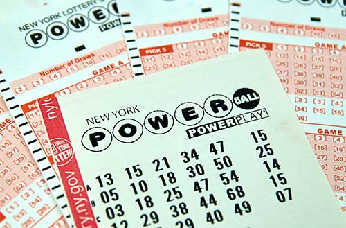 NY powerball ticket